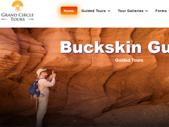 Website Portfolio<br />Grand Circle Tours